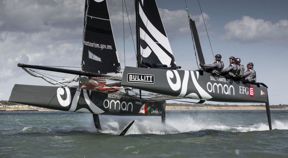 OmanSail, Oman, Sultinate of Oman, GC32, Foiling Catamaran, Leigh McMillan, Southampton Sailing